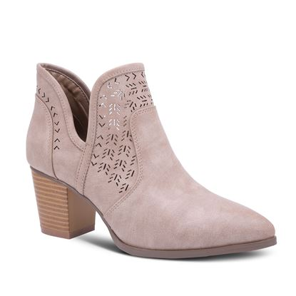 Picture of Birch Laser-Cut Bootie - Size run B 7-11 (9 pieces) - Taupe