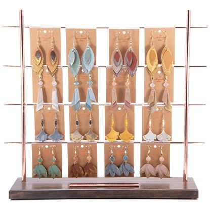 Picture of 2019 Fall Leather Earring Pre Pack 4 - With Fixture
