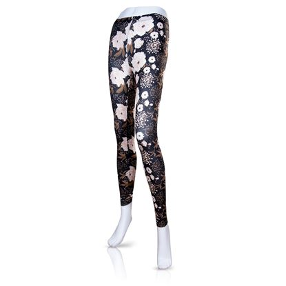 Picture of 2020 Spring Fashion Leggings 6pc Size Run - Beige Floral