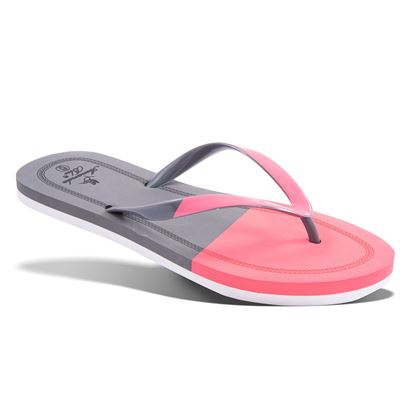 Picture of Juilet Juliet Colorblock Sandal 7-11 Size Run B (9 Pack) - Coral