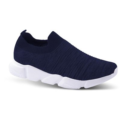 Picture of Slip-On Athleisure Sneaker 6-10 Size Run A (9 Pack) - Dark Navy Ridges