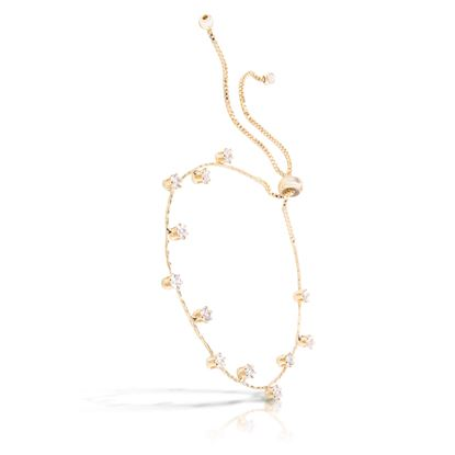 Picture of Droplet Pull-Cord Bracelet -Gold