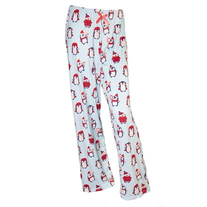 Picture of 2020 Spring Pajama Pants - Peppermint Penguins
