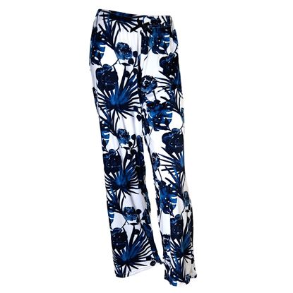 Picture of 2020 Spring Pajama Pants - Navy Palms