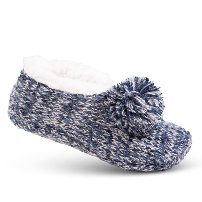 Picture of Cozy Slipper Socks - Blue