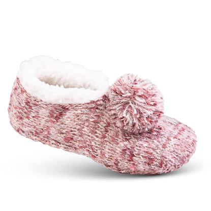 Picture of Cozy Slipper Socks - Blush