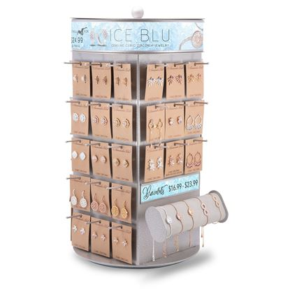 Picture of 2019 Fall Ice Blu New Designs Pre Pack - Assortment D - With Fixture