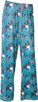 Picture of Pajama Pants - Floral Puppy