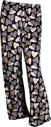 Picture of Pajama Pants - Leopard Hearts