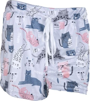 Picture of Pajama Shorts - Kitty Cats