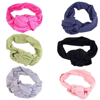 Picture of 2020 Fall Knot Headband 12 pc Assortment (2 each of 6 styles) STYLES NOT SOLD INDIVIDUALLY - without fixture