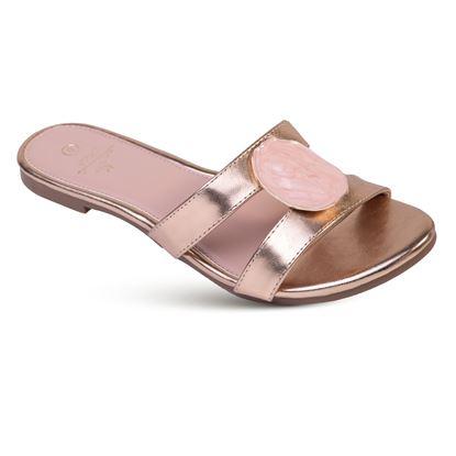 Picture of Amber - Slice Slide Sandal - Blush